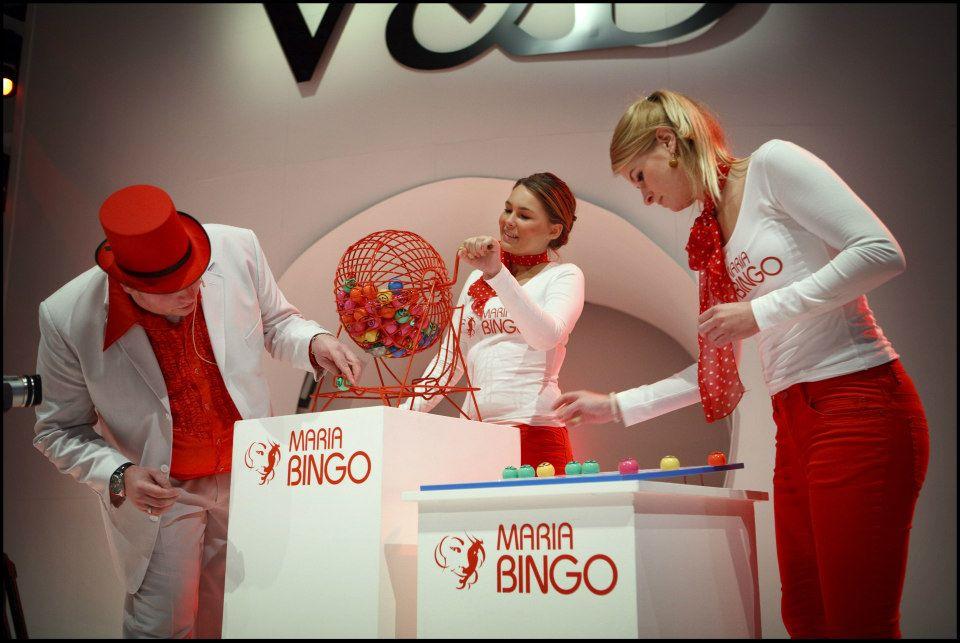 presentator bingo huishoudbeurs evenement